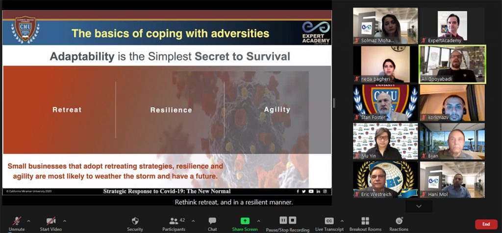 Strategic response seminar Simple secret of survival